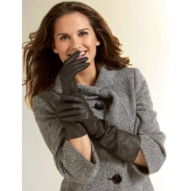 Womensgloves-long-leather-glove