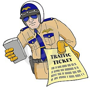 Police-officer-giving-traffic-ticket