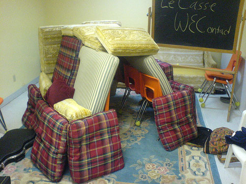 Couch Cushion Fort Ideas: Burford Designs  Couch Cushion Architecture,
